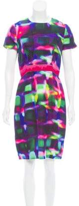 Peter Som Printed Silk Dress