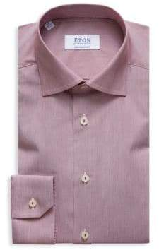 Eton Contemporary-Fit Stripe Button-Down Shirt