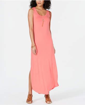 Style&Co. Style & Co Sleeveless Slit Maxi Dress