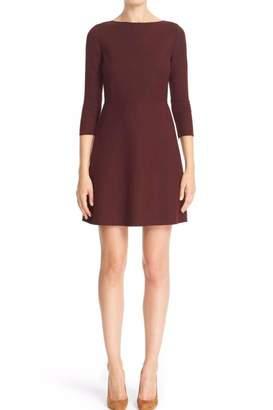 Theory Wine Colored Dress