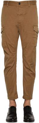 DSQUARED2 16cm Sexy Stretch Cotton Cargo Pants