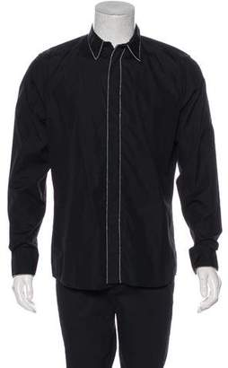 Givenchy Embellished Button-Up Shirt