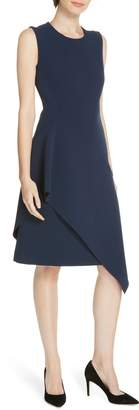 BOSS Delakety Asymmetrical A-Line Dress