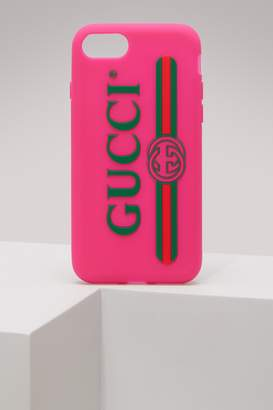 Gucci Rubber iPhone 7 Plus case with logo
