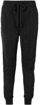 Haider Ackermann Grosgrain-trimmed Cotton-jersey Track Pants