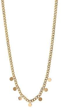 Chicco Zoe Women's 14K Yellow Gold Discs Choker Necklace