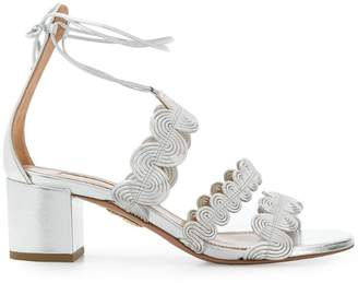 Aquazzura wave strap sandals