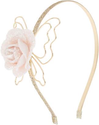 Monsoon Nora Glitter Flower Alice Hair Band