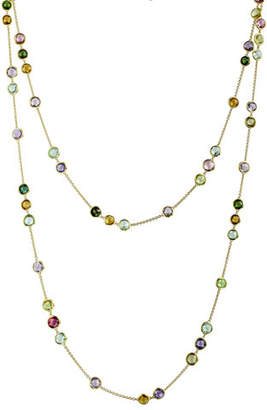"""Marco Bicego Jaipur Mixed-Stone Layering Necklace, 47""""L"""