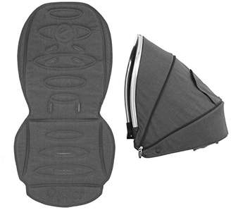 babystyle Oyster Max2 Lie-Flat Tandem Colour Pack, Tungsten Grey