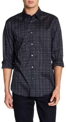 John Varvatos Plaid Classic Fit Shirt