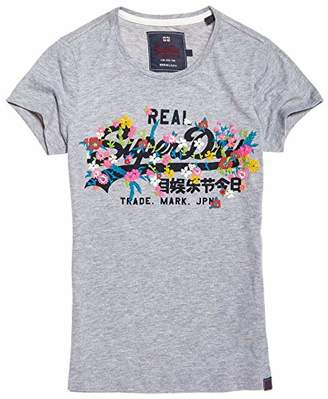 Superdry Women's Women's Vintage Logo Puff Embroidered T-Shirt