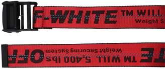 Off-White Off White 35mm Long Webbing Industrial Belt