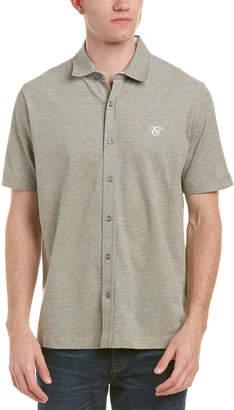 Canali Short Sleeve Button Down Shirt