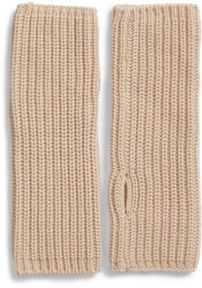 AllSaints Half-Cardigan Stitch Arm Warmers