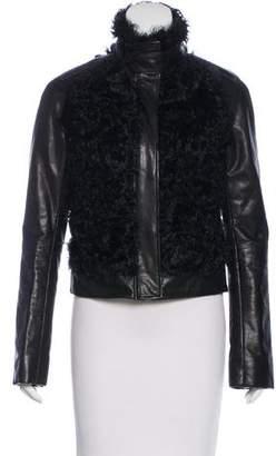 Vince Leather & Lamb Jacket