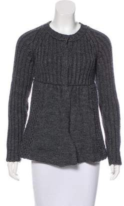 Miu Miu Cable Knit Cardigan