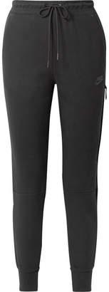 Nike Tech Fleece Cotton-blend Track Pants - Black