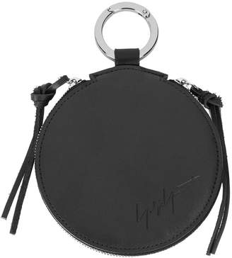 Yohji Yamamoto zipped wallet keyring