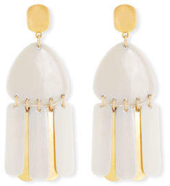 NEST Jewelry Bone Fringe Drop Earrings