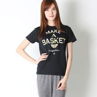 Converse (コンバース) - コンバース CONVERSE レディース バスケットボール 半袖Tシャツ ウィメンズプリントTシャツ CB371301