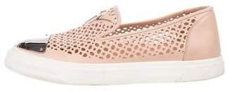Giuseppe Zanotti Perforated Slip-On Sneakers