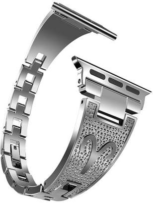 Moretek for Apple Watch Band Strap(42mm Silver)