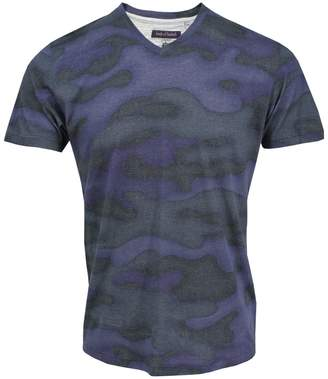 Lords Of Harlech Maze Tee In Fading Camo Ink