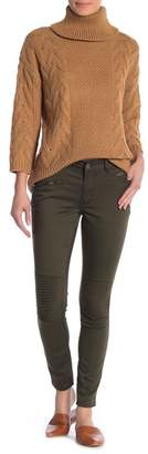 ABS by Allen Schwartz ESSENTIALS BY Zipper Pocket Skinny Pants