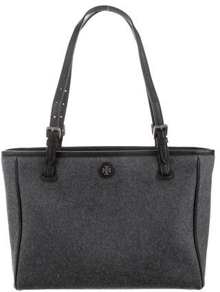 Tory BurchTory Burch Small York Flannel Buckle Tote