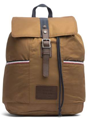 Tommy Hilfiger Waxed Cotton Backpack