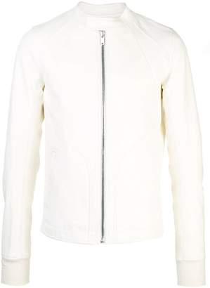 Rick Owens zipped-up bomber jacket