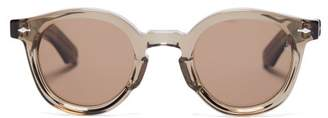 BEIGE Jacques Marie Mage - Felix Round Acetate Sunglasses - Mens