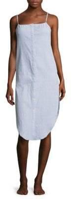 Onia Flora Chambray Coverup Dress