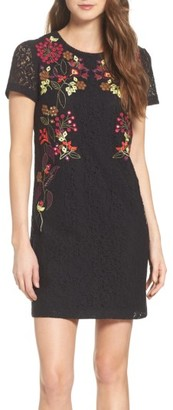 Women's French Connection Legere Embellished Sheath Dress $248 thestylecure.com