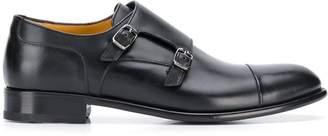a. testoni side-buckle monk shoes