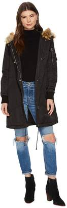 BB Dakota Emmers Hooded Anorak Coat Women's Coat