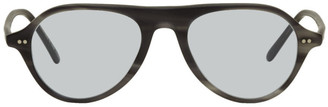 Oliver Peoples Grey Emet Sunglasses