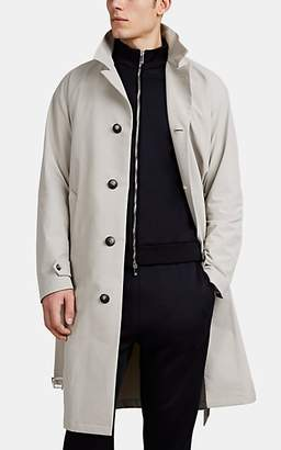 Giorgio Armani Men's Tech-Crepe Trench Coat - Beige, Tan