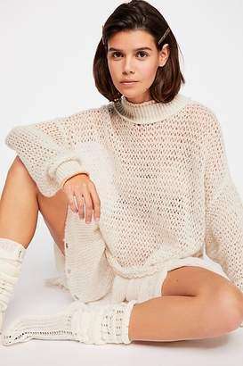 Float On Peplum Sweater