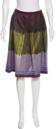 Saks Fifth Avenue Silk-Blend Skirt