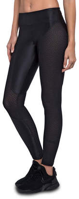 Koral Activewear Harlow High-Rise Mesh Performance Leggings