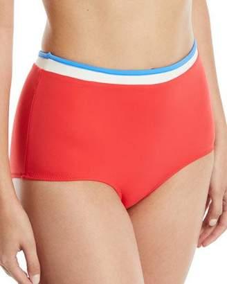 Solid and Striped The Katie High-Waist Bikini Swim Bottoms