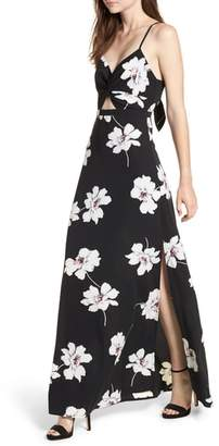 Dee Elly Twist Front Maxi Dress