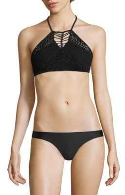 Desert Muse Two-Piece Crochet Bikini Set