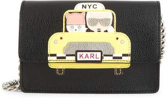 Karl Lagerfeld Paris Maybelle Taxi Crossbody