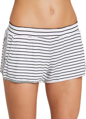 Eberjey Vega Striped Not-So-Basic Lounge Shorts