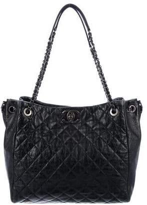 Chanel Black Calfskin Leather Handbags - ShopStyle 0ab58ee642