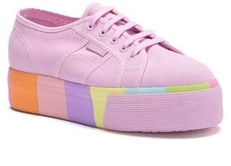 Superga 2790 Platform Color Block Sneaker