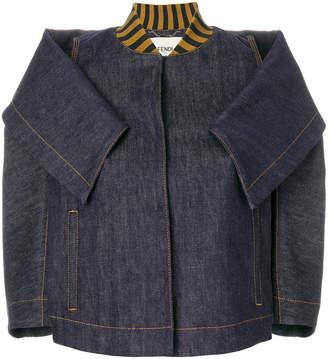 Fendi cropped denim jacket